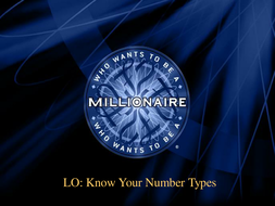 7 Millionnaire Types of Number.PPT