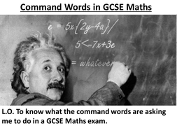 5 Maths Command Words Guide.ppt