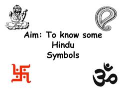 Hindu Symbols By Jodip Teaching Resources Tes