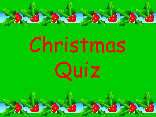 Fun Christmas Quiz KS2- with 5 different rounds by SamJayne01 - Teaching Resources - TES