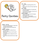 Poetry Questions Booklet.doc