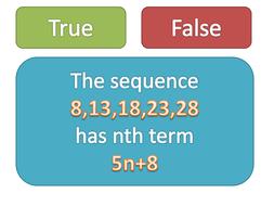 maths ks3 nth terms starters plenaries powerpoint by tristanjones