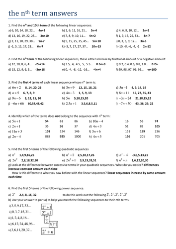 All Worksheets » Free Ks3 Maths Worksheets With Answers ...
