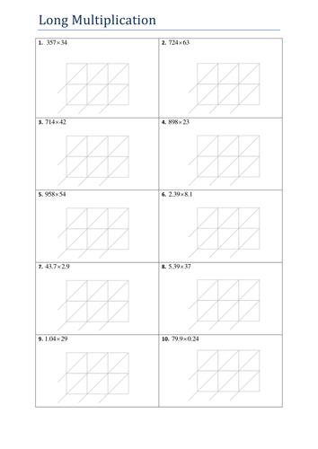 Division Worksheets : division worksheets using chunking Division ...