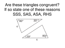 Congruent Triangles by Tristanjones | Teaching Resources