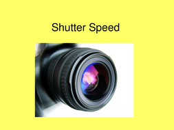 Shutter Speed Microlesson.ppt