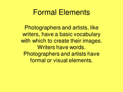 formal elements_yellow.ppt