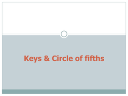 Keys and Circle of fifths.pptx