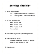 Resource G - Settings checklist.doc