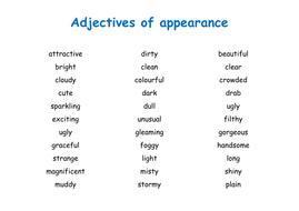 Resource F - Adjectives display.doc