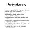 Party planners instruction sheet.docx