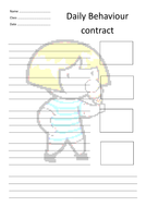daily behaviour contract g.pdf