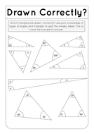 Drawn Correctly? - Angles in a triangle