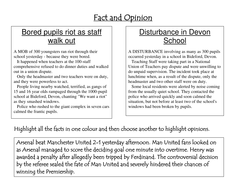 Bias, fact and opinion. by rec208 | Teaching Resources