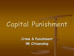 Capital Punishment powerpoint