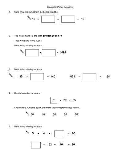 Year 6 Maths SATS QUESTIONS 2 - 20 grouped topics by Govinderfan ...