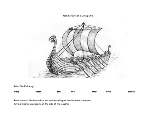 Viking Boats by lizbiz2 - Teaching Resources - Tes