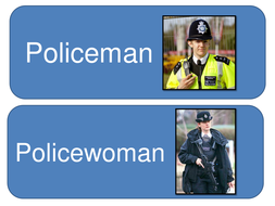 Police station role play signs