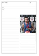 Newspaper Report Writing - The Marathon