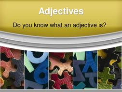 Adjectives 2 - quantity and distinctive.ppt