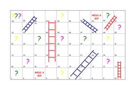 Maths and Ladders (Board Game) | Teaching Resources