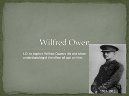 Wilfred Owen - Lesson 3.ppt
