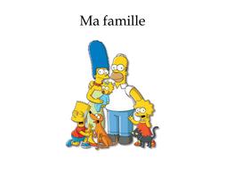 Les simpsons, ma famille