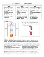 Yr8 Chem Super summary2.doc