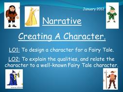 Narrative (3) - Creating Characters
