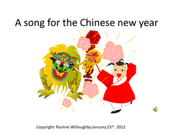 Chinese new year song music