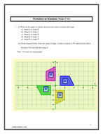 3d Shapes Nets Worksheet Pdf Rotations Ks And Ks With Answers By Hassan  Teaching  Letter C Printable Worksheets Excel with Free Printable Reading Comprehension Worksheets Excel Worksheet On Rotations Byhassanlakissmathsmalakisscompdf Complete Sentence Worksheet