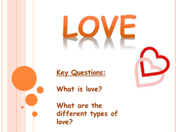 various types of love