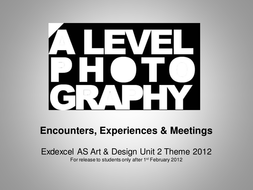 Edexcel 2012 AS Theme - Encounters Experiences and Meetings.ppt