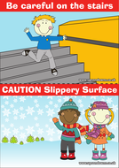 Safety Instructions Poster by UpsonDowns   Teaching Resources