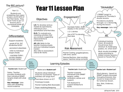 Yr11 5 min Lesson Plan.ppt