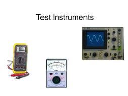 Test Instruments.ppt