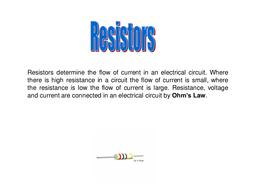 resistors and symbols.ppt