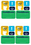 Certificate - Good work.docx