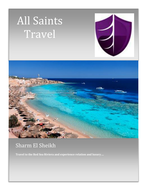 Holiday brochure and booking form