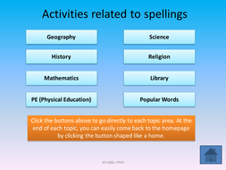 fun spelling activies on powerpoint with afl by diamond raindrops
