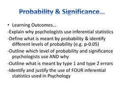 Inferential Tests