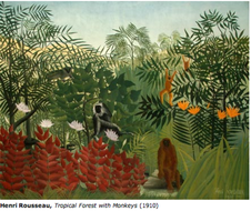 3-D Rainforest Henri Rousseau Art Pictures | Teaching Resources