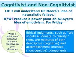 descriptive approach to ethics