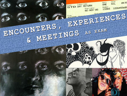 Encounters, Experiences and Meetings