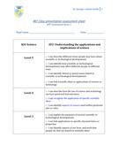 APP AF2 assessment cover sheet checklist (L3-5)