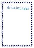 my rainforest animal.doc
