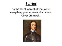 How different was life under Cromwell and Charles?