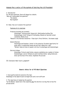 Essay Revision Document for 45 Mark Questions