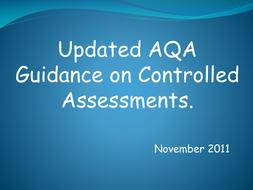 Updated AQA Guidance (November 2011)
