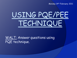 Using PQE technique.ppt
